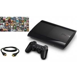 Sony PS3 Super Slim 12GB + 5 Gier + Pad